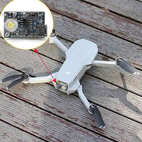 CUEYU LED Night Navigation Light per DJI Mavic Mini Drone, DIY Night Navigation Accessori con adesivo Magico Compatibile con DJI Mavic Mini Drone