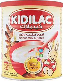 Kidilac Baby Cereal Wheat Milk And Dates 400 gr