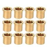 Boccole per robot standard 12Pcs 8/6 USA, boccole in bronzo ad alta lubrificazione parti di robot industriali compatibili con FRC, FRC, FIRST, WRO