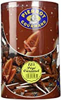 125 sucettes PIERROT GOURMAND Caramel