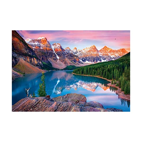 Buffalo Games – Mountains On Fire – 2000 Piece Jigsaw Puzzle