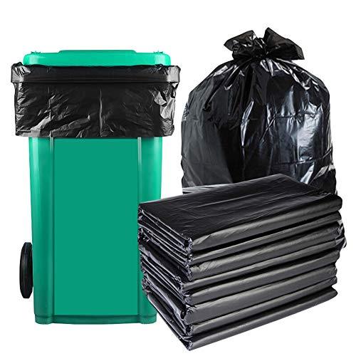 Steellwingsf Einweg-umweltfreundlicher Müllsack, 50 Stück Einweg-Hotelbüro Home Müllcontainer Müllsack Verdicken* 120 cm x 140 cm
