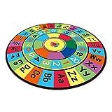 SKRHFLH Camera da Letto Digital Color Moquette, Camera da Letto for Bambini Carpet alfanumerico Colore del Tappeto for i Bambini Giocare i Giochi