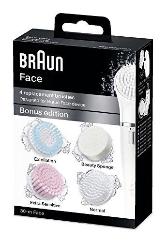 Braun Face 80-m - 4 vervangende borstels - Bonuseditie