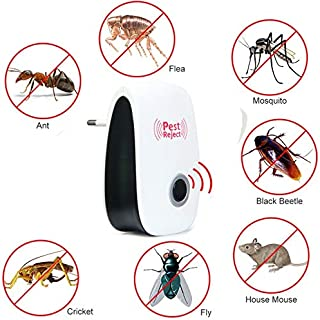 Ultrasonic Pest Reject Repeller Control Electronic Pest Reject Repellent Mouse Rodent Cockroach Mosquito Gopher Insect Kil...