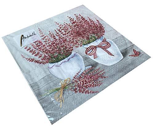 Papier Servietten Erica Lunch Fest Party ca 33x33cm Herbst Winter Weihnachten