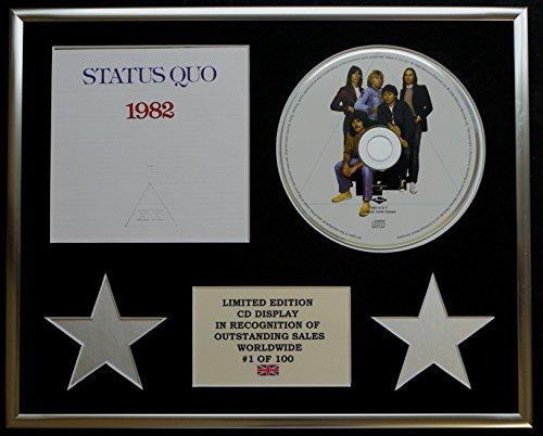STATUS QUO/CD-Darstellung/ Limitierte Edition/COA/1982