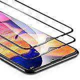 ESR Verre Trempé pour Samsung A10 (2 Pièces), [Bord 2.5D], Film Protection Écran Dimension Intégrale pour Samsung Galaxy A10 2019