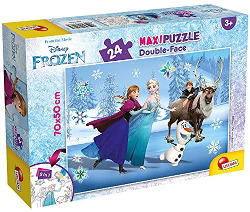 Liscianigiochi Disney Puzzle Supermaxi 24, Frozen, 74075