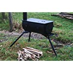 DWD Outdoor Camping Camp Fire Wood Burner Stove with Carry Bag