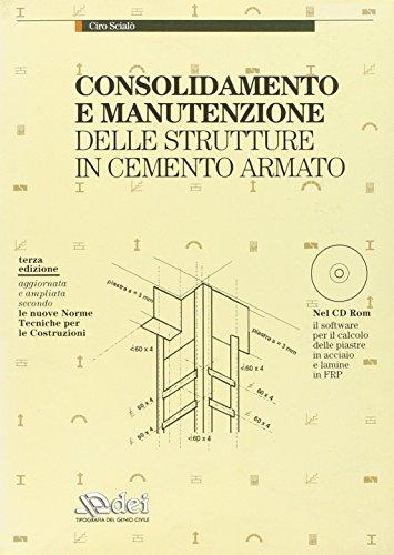 Consolidamento e manutenzione delle strutture in cemento armato. Con CD-ROM
