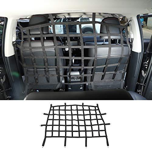 JeCar for Toyota 4Runner Cargo Net, Rear Seat Divider Net Dog Car Barrier for Toyota 4Runner 2010-2020