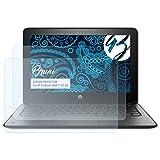 Bruni Schutzfolie kompatibel mit HP ProBook x360 11 G1 EE Folie, glasklare Bildschirmschutzfolie (2X)