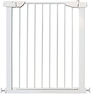 Baby playpen Safety Wall Fix Extending Wide Safety Metal Gate, Ideal for Kids and Pets - White - Height 90cm (Color : 96-103cm)