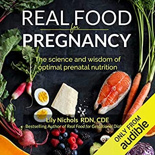 Real Food for Pregnancy audiobook cover art