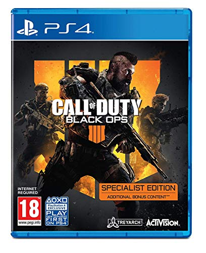 Call Of Duty: Black Ops 4 Specialist Ps4- Playstation 4