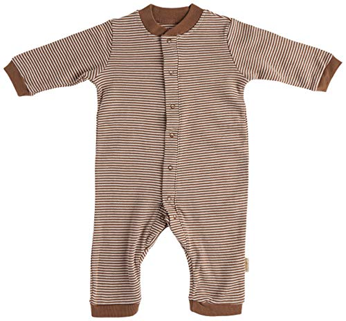 Tadpoles Organic Double Knit Cotton Footless Snap Front Romper Grey 03 Months
