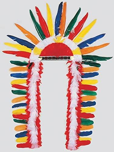 DISBACANAL Penacho de Indio Multicolor