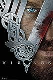 Vikings - Key Art - Wikinger TV Serie Poster Plakat Druck -