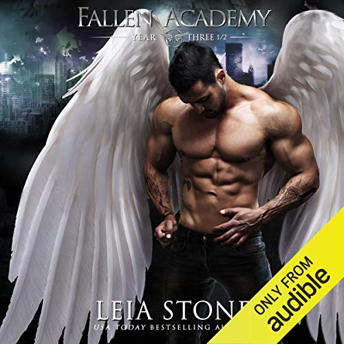 Fallen Academy: Year Three and a Half audiobook cover art