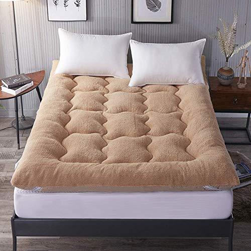 Tatami - Colchón de suelo plegable con acolchado suave y antiescaras para dormir, para dormitorio, dormitorio, 180 x 200 cm