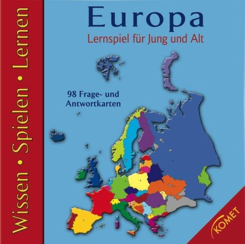 Europa: Lernspiel für Jung und Alt