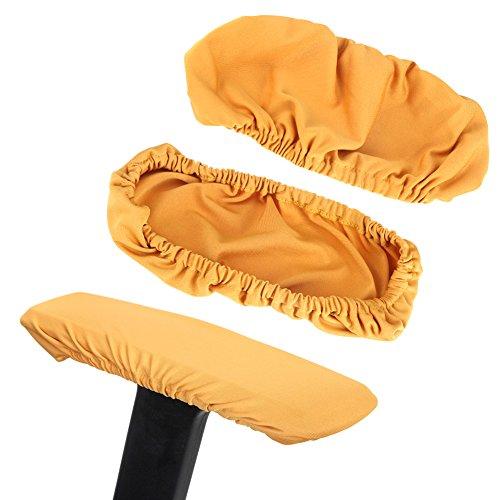 Fdit 1 Paar Stoel Armleuning Covers Verwijderbare Elastische Protector Office Armchair Cover
