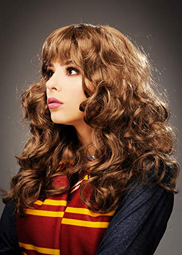 Magic-Box-Hermione-Granger-Style-Brown-Curly-Wig-with-Fringe