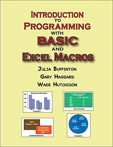 Introduction to Programming with Basic and Excel Macros