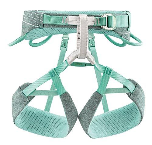 PETZL Harness Large Selena Harnais d'escalade pour Femme Bleu/Gris Taille L Mixte-Adulte, Multicolore, L