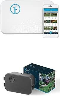 Rachio Smart Sprinkler Controller, 8 Zone 2nd Generation, Works with Amazon Alexa WITH Rachio Outdoor Enclosure, for 2nd Generation Sprinkler Controller