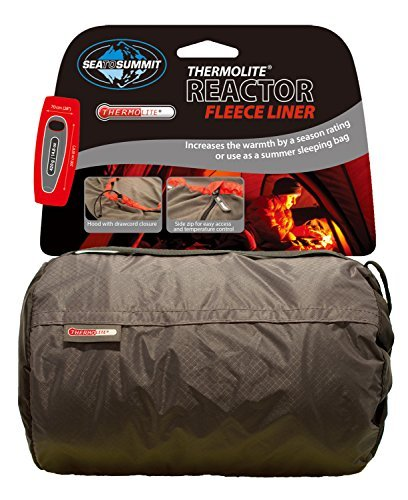 Sea to Summit Thermolite Reactor Fleece Sleeping Bag grey 2016 mummy sleeping bag by Sea to Summit