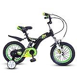 YYhkeby Bicicletas for niños, Bicicletas de Ruedas de formación de los niños 12 / 14inch niños y niñas de Ciclo, Apto for niños de 2-5 (Color: Azul, Tamaño: 12 Pulgadas) Jialele