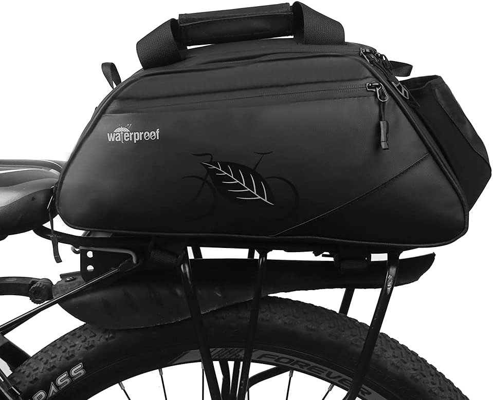 LOCALLION 15L Elegant Bike Trunk Bag Expandable Re Bicycle Shipping included Rack