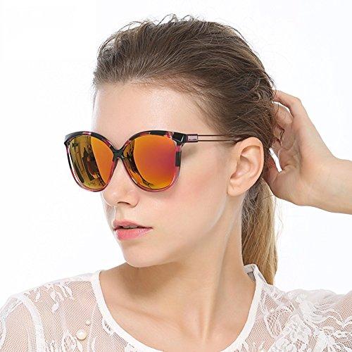 MFFACAI 2019 Frauen Polarisierte Sonnenbrille Fahren Brille Große Sonnenbrille, 1