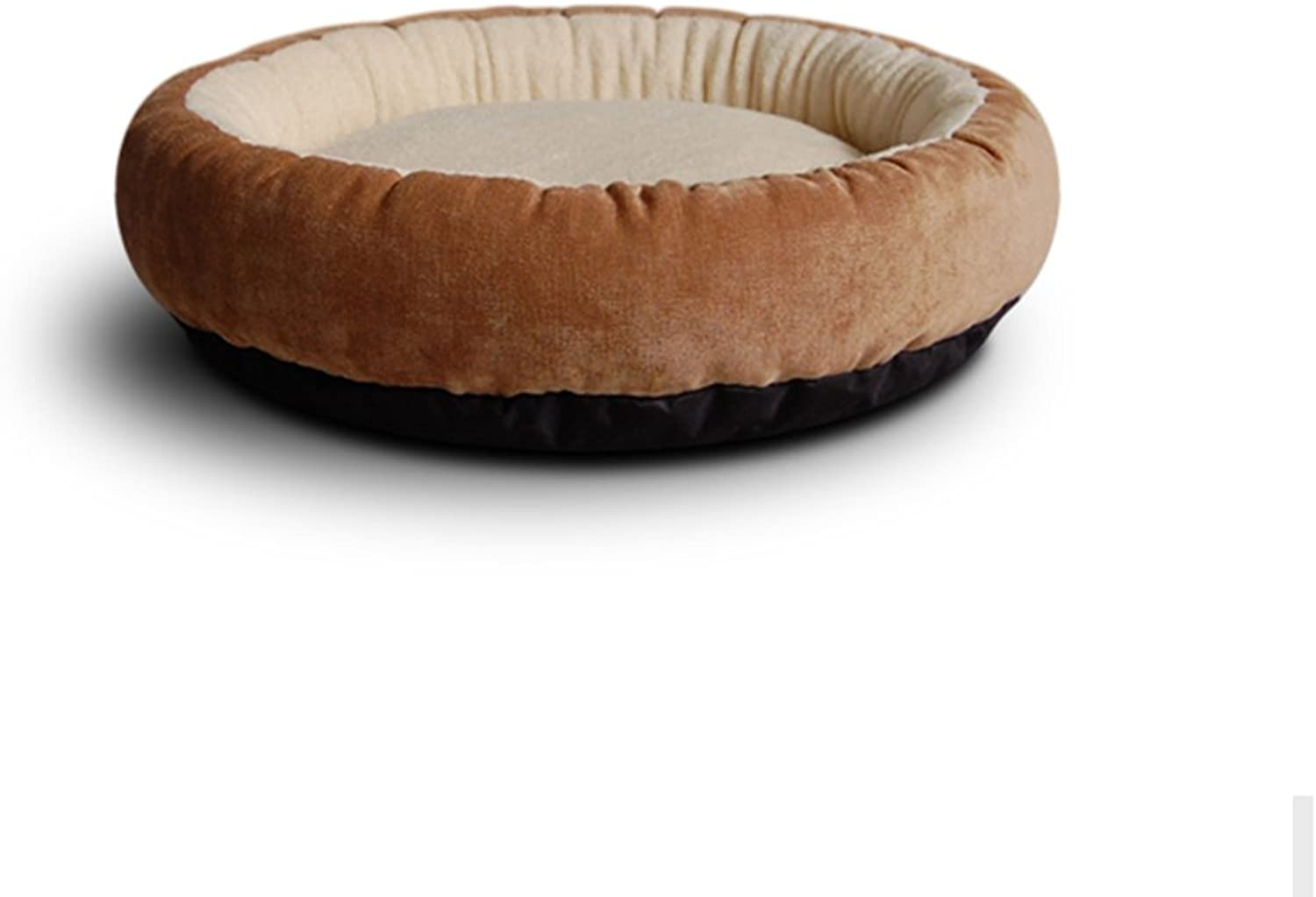 BEDS Dogs Furniture Soft cat litter kennel Cat mats Bomei Teddy VIP Schnauzer Bear Dog (color   Brown, Size   S)
