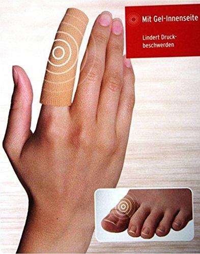Sensiplast Fingerbandagenset Gel Zehenbandagenset Gel Bandage Zehenbandage ~cf 87706