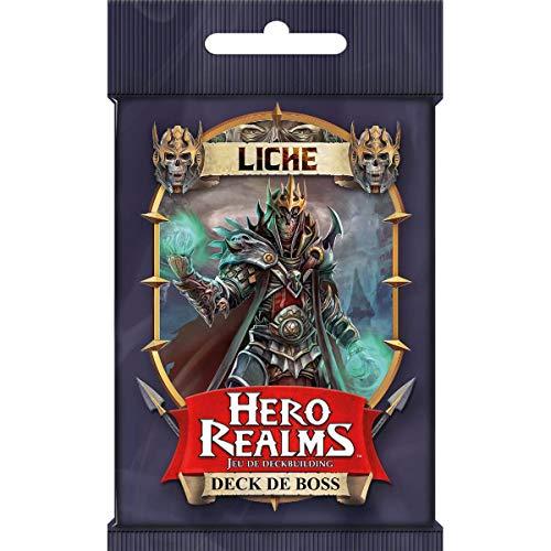 IELLO Hero Realms - Deck de Boss : Liche - Booster 30 Cartes VF