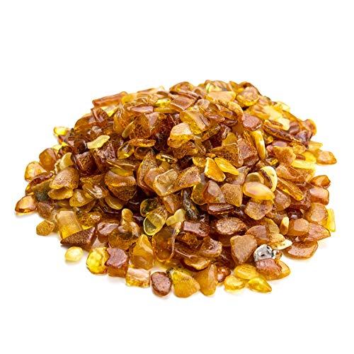 Amber Culture Baltischer Bernstein Stein - Mix Farbe, Natur, poliert Bernstein Perlen (keine Löcher)