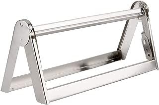 UltraSource Paper Roll Dispenser/Cutter, Stainless Steel, 18