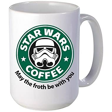 Star Wars, 15 oz Mug May the Froth be With You, Star Wars Lovers, Perfect Gift