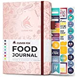 Clever Fox Food Journal - Daily Food Diary, Meal Planner to Track Calorie and Nutrient Intake, Stick to a Healthy Diet &...