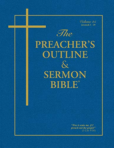 The Preacher's Outline & Sermon Bible: Jeremiah Vol. 1