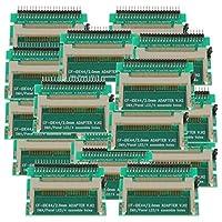 gazechimp 20パック2.5インチIDE44ピンからCFカードCompaフラッシュカードコンバーターアダプター