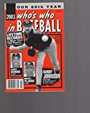 2003 Who's Who in Baseball