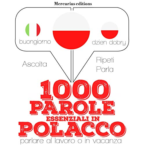 1000 parole essenziali in Polacco audiobook cover art