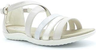 0ec13112e5cd99 Geox Chaussures Femme Sandales D Sand. Vega B en Cuir Beige D92R6B-054AJ-