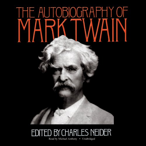 The Autobiography of Mark Twain audiobook cover art