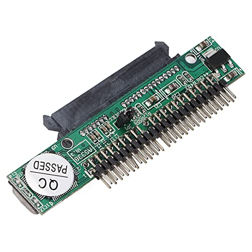 Adaptador SATA a IDE, ATA 7 + 15P Hembra a 44 Pin Macho Convertidor de unidad de computadora PATA, SIN controlador, Plug and Play, Adaptador de disco duro IDE para disco duro de computadora portátil