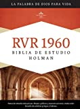 RVR 1960 Biblia de Estudio Holman, tapa dura con indice...